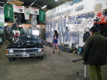 Backstage Motorshow en Warnes Repuestos