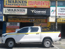 Equipamiento minero reglamentario para camionetas 4×4. Consulte precios para su flota!