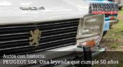 Peugeot 504. Una leyenda que cumple 50 años