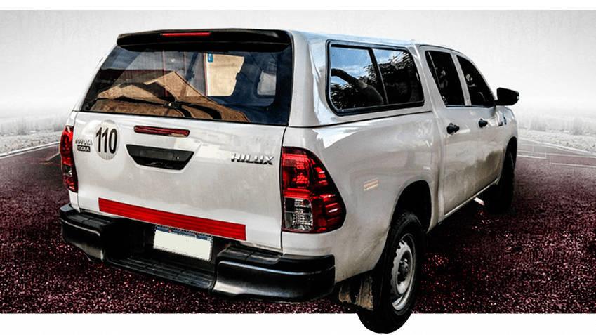 Cupula Toyota Hilux 2018