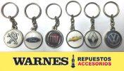 Ahora en Warnes podes comprar tu llavero con la marca de tu vehículo.