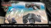 Cubre cuatri, super calidad, PVC 250 gr., con felpa interior