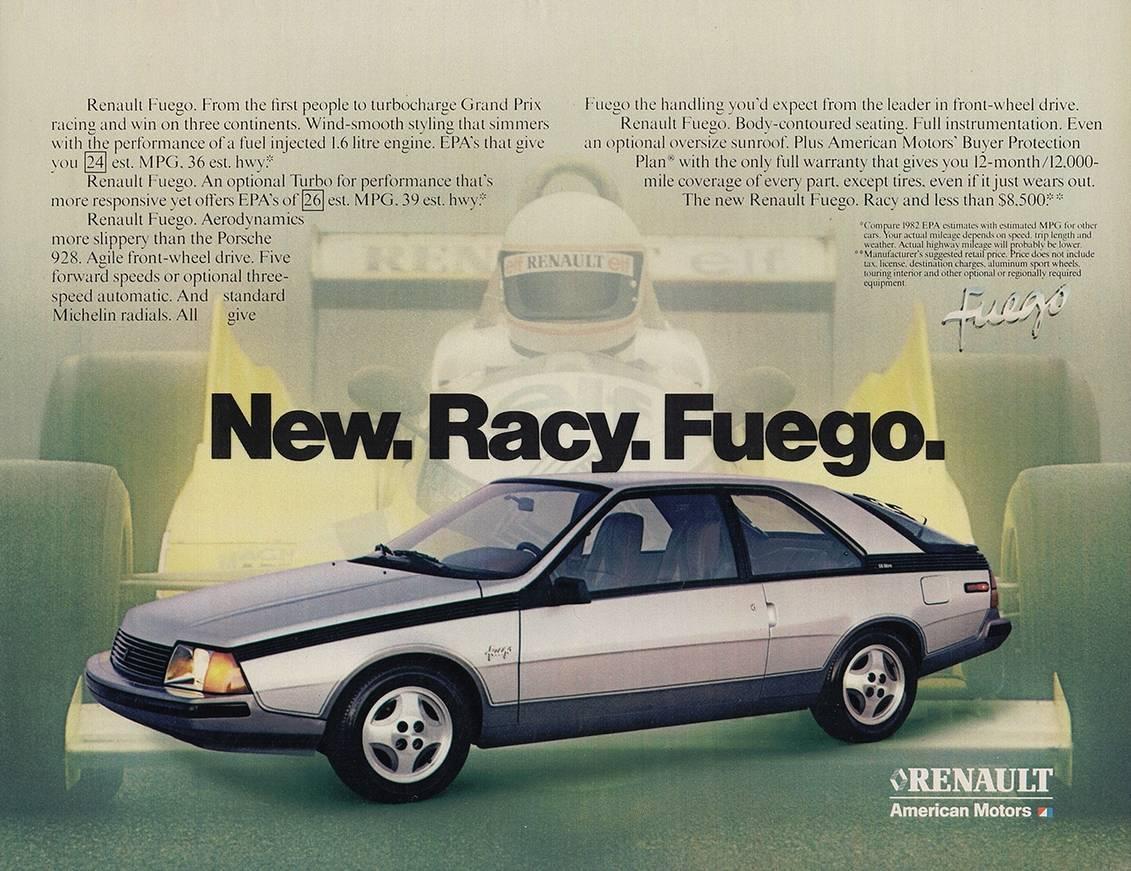 Autos Con Historia Renault Fuego Warnes Repuestos Noa S A