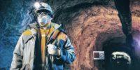 Linternas para casco de minería