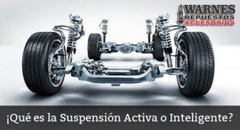 Qué es La Suspensión Activa o Inteligente?